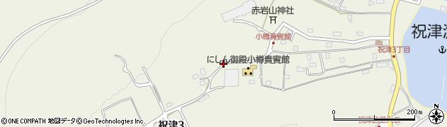 北海道小樽市祝津周辺の地図