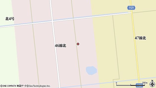 〒068-1116 北海道石狩郡新篠津村上達布の地図