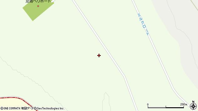 〒089-3731 北海道足寄郡足寄町中矢(7〜288番地)の地図