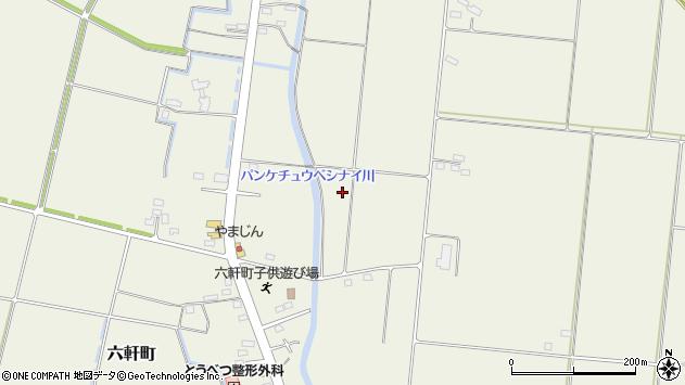 〒061-0231 北海道石狩郡当別町六軒町の地図