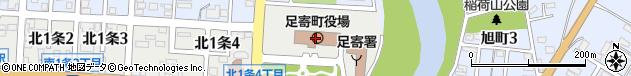 北海道足寄郡足寄町周辺の地図