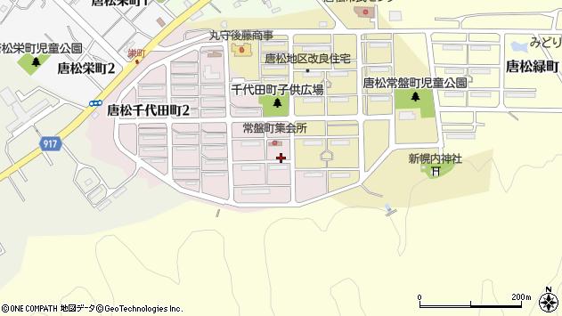 〒068-2134 北海道三笠市唐松千代田町の地図
