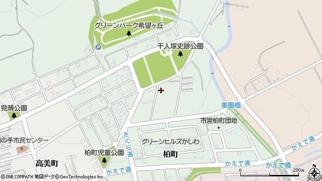 〒068-2108 北海道三笠市柏町の地図