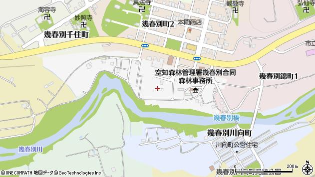 〒068-2115 北海道三笠市幾春別滝見町の地図