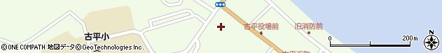 北海道古平郡古平町周辺の地図