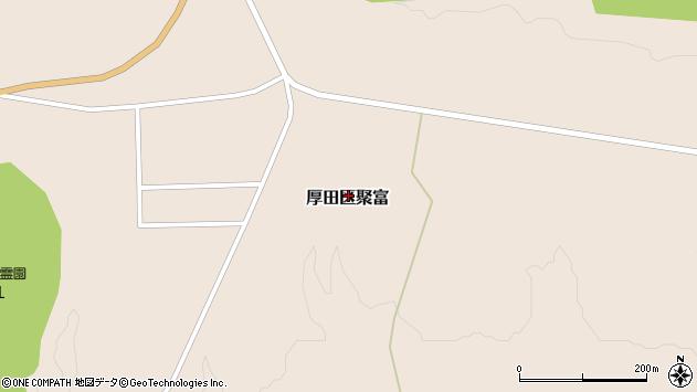 〒061-3441 北海道石狩市厚田区聚富(その他)の地図