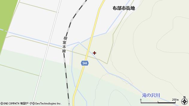 〒076-0005 北海道富良野市布部一の地図
