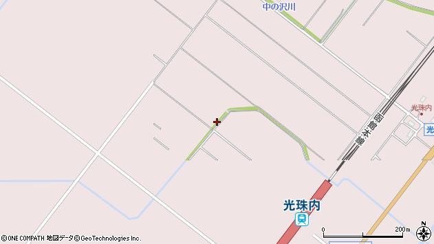 〒079-0162 北海道美唄市光珠内北の地図