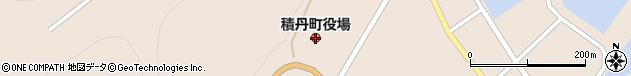 北海道積丹郡積丹町周辺の地図