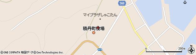 北海道積丹町(積丹郡)周辺の地図