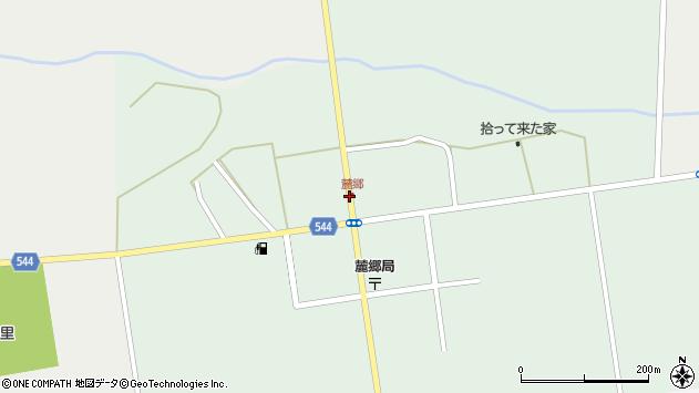 〒076-0161 北海道富良野市麓郷市街地の地図