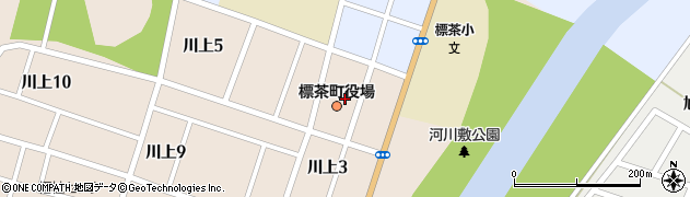 北海道川上郡標茶町周辺の地図