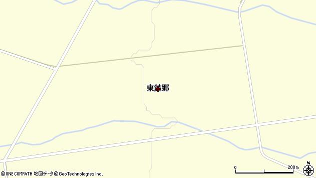 〒076-0162 北海道富良野市東麓郷の地図