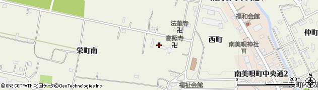 高照寺周辺の地図