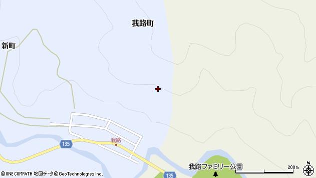 〒072-0855 北海道美唄市我路町公園通りの地図