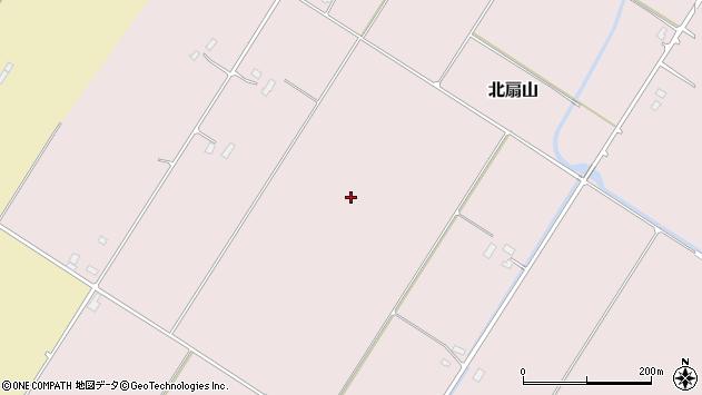 〒076-0001 北海道富良野市北扇山の地図
