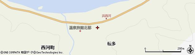 北海道積丹郡積丹町西河町周辺の地図
