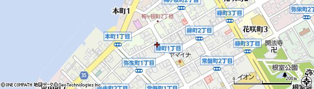 ラブレス周辺の地図