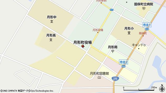 〒061-0500 北海道樺戸郡月形町(以下に掲載がない場合)の地図