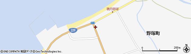 北海道積丹郡積丹町野塚町周辺の地図