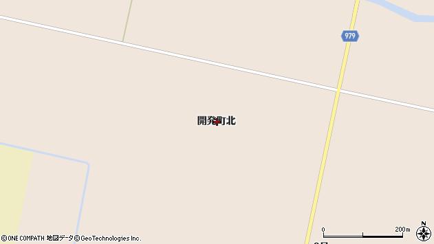 〒072-0046 北海道美唄市開発町北の地図