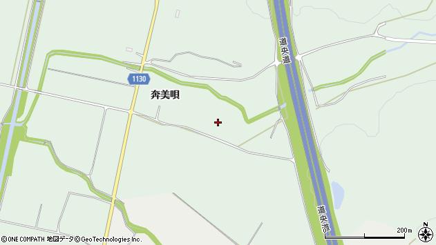 〒072-0008 北海道美唄市癸巳町奔美唄の地図