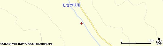 モセツリ川周辺の地図