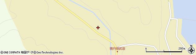 北海道積丹郡積丹町幌武意町番家の沢周辺の地図
