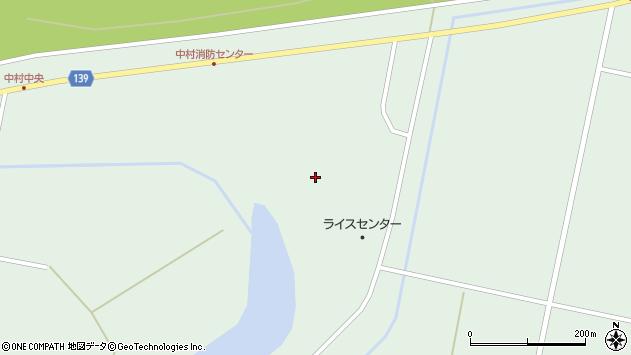 〒079-0272 北海道美唄市中村町中央の地図