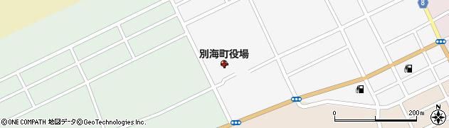 北海道野付郡別海町周辺の地図