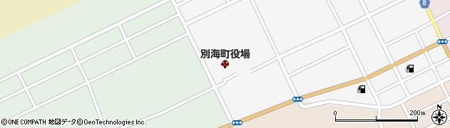 北海道別海町(野付郡)周辺の地図