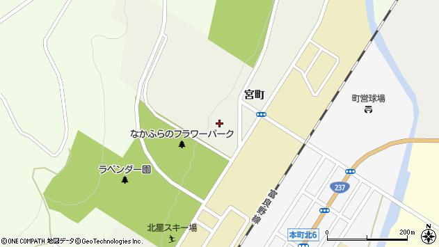 〒071-0714 北海道空知郡中富良野町宮町の地図