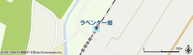 北海道空知郡中富良野町周辺の地図