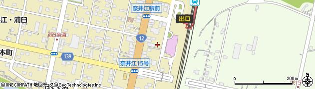 北海道空知郡奈井江町奈井江町本町2区周辺の地図