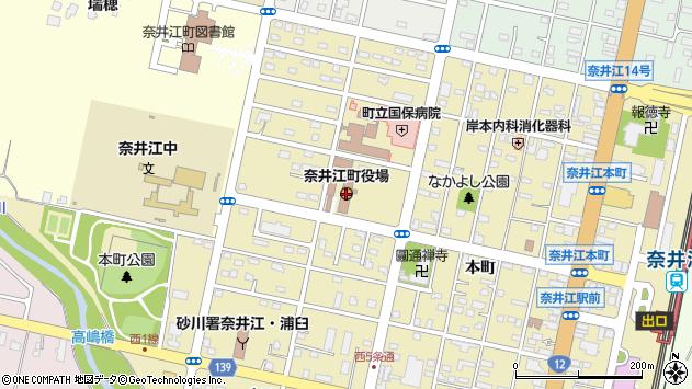 〒079-0300 北海道空知郡奈井江町(以下に掲載がない場合)の地図