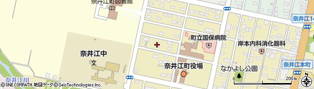奈井江町役場議会 事務局周辺の地図