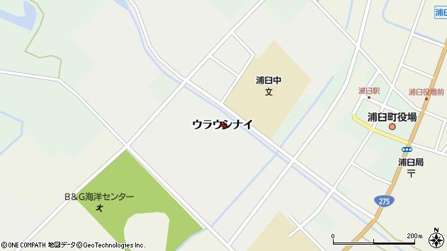 〒061-0611 北海道樺戸郡浦臼町浦臼第1の地図