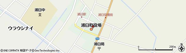 浦臼町役場 農業委員会周辺の地図