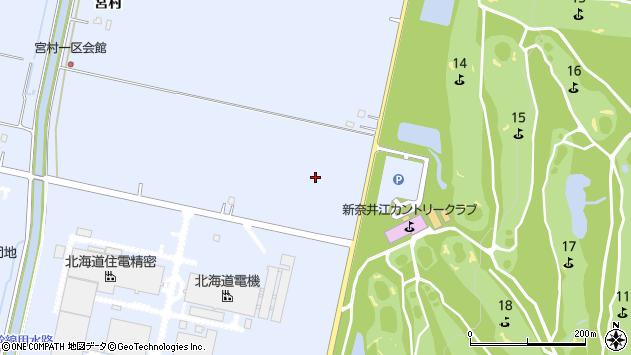 〒079-0304 北海道空知郡奈井江町宮村の地図