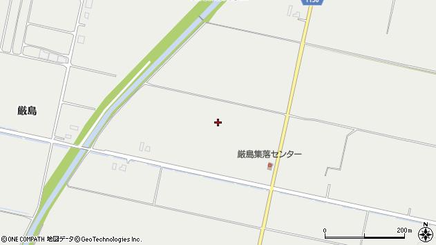 〒079-0301 北海道空知郡奈井江町厳島の地図