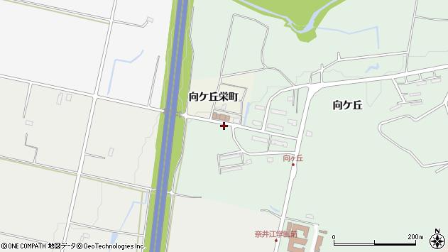 〒079-0303 北海道空知郡奈井江町向ケ丘の地図