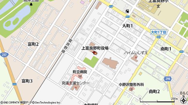 〒071-0500 北海道空知郡上富良野町(以下に掲載がない場合)の地図