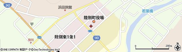 北海道陸別町(足寄郡)周辺の地図
