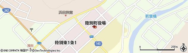 北海道足寄郡陸別町周辺の地図
