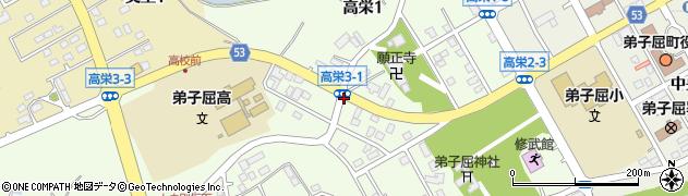 高栄3‐1周辺の地図