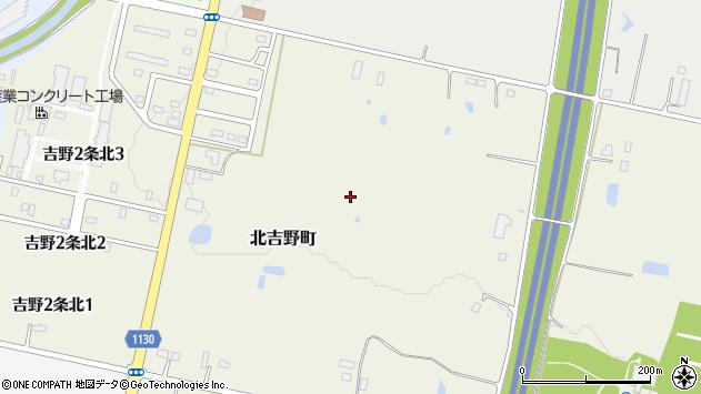〒073-0118 北海道砂川市北吉野町の地図