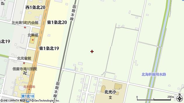 〒073-0108 北海道砂川市北光の地図