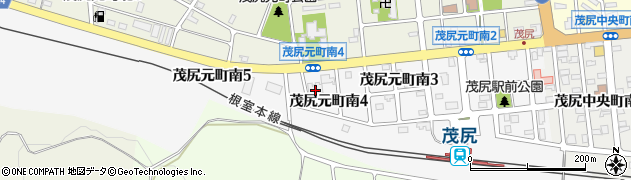 光運寺周辺の地図