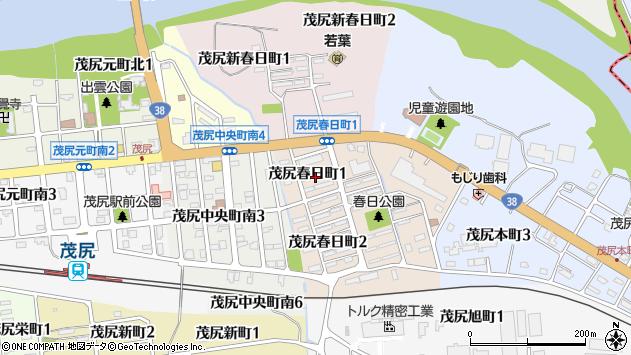 〒079-1262 北海道赤平市茂尻新春日町の地図