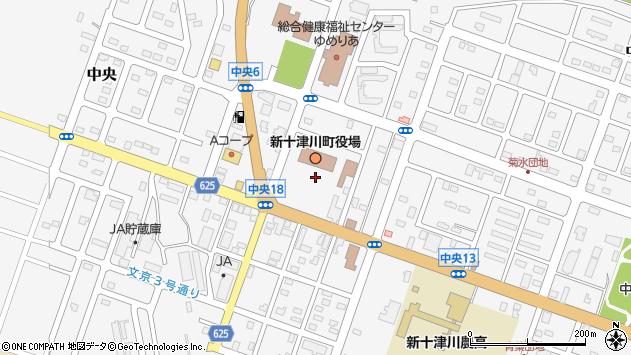 〒073-1100 北海道樺戸郡新十津川町(以下に掲載がない場合)の地図